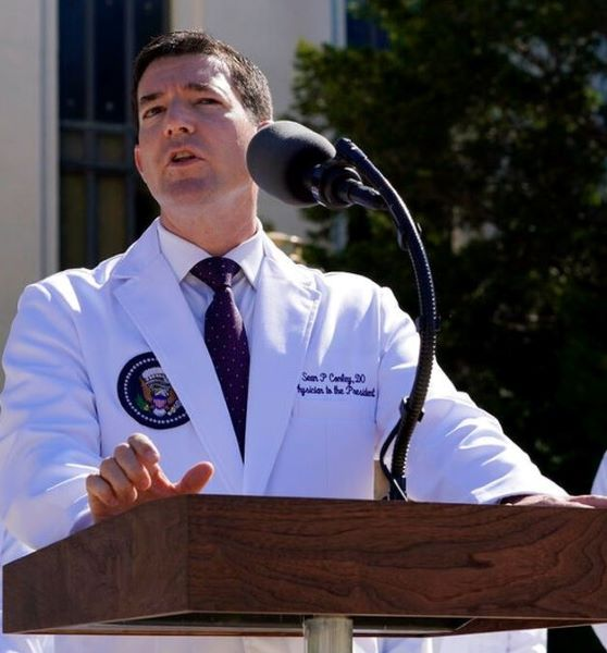 Who Is Dr Sean Conley From Walter Reed: How Much Salary Does He Take As A White House Doctor?