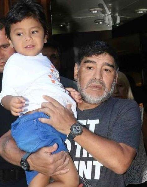 Diego Fernando Maradona Ojeda Edad: Veronica Ojeda And Diego Maradona's Son