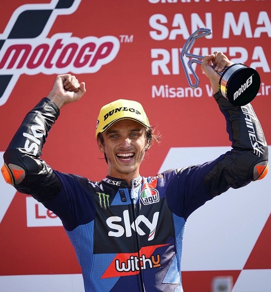 Luca Marini Parents, Father, Siblings: Everything On Valentino Rossi Half-Brother