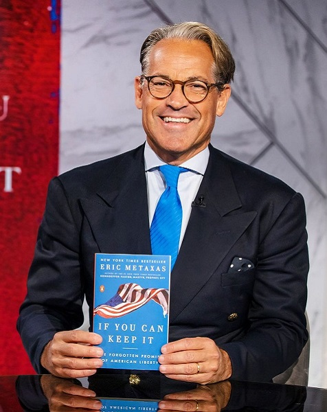 Who Is Eric Metaxas Wife? Everything On Age, Family and Net Worth