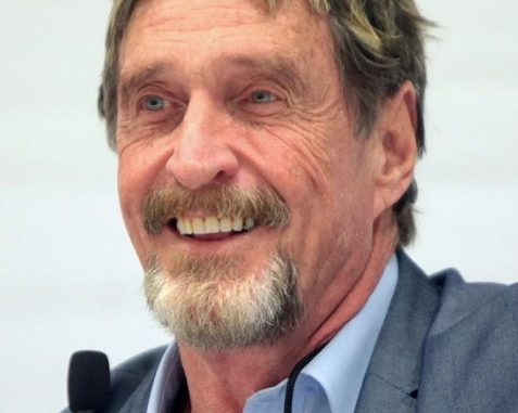 John McAfee Tattoos – 'WHACKD' Tattoo Meaning Explained
