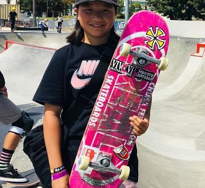 Momiji Nishiya Is The First Woman Gold Medalist In SkateBoarding – How Old Is She?