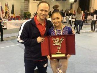 Who Is Jess Graba? The Muscles Behind Olympics Hopeful Sunisa Lee Training