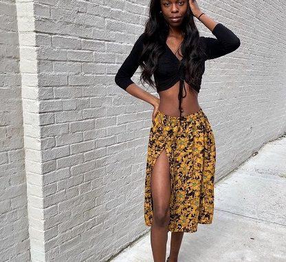 Who Is Nanga Awasum? Meet The Model On Instagram