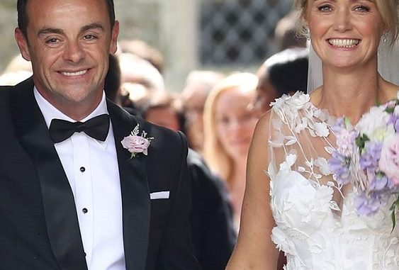 Anne Marie Corbett Daughters Caught The Limelight In Ant McPartlin Wedding