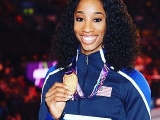 Will Keni Harrison Manage Gold? More On Her Personal Life
